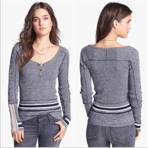 We The Free • Free People Henley Sweater Cuffs